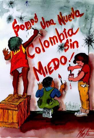 somos una nueva colombia sin miedo